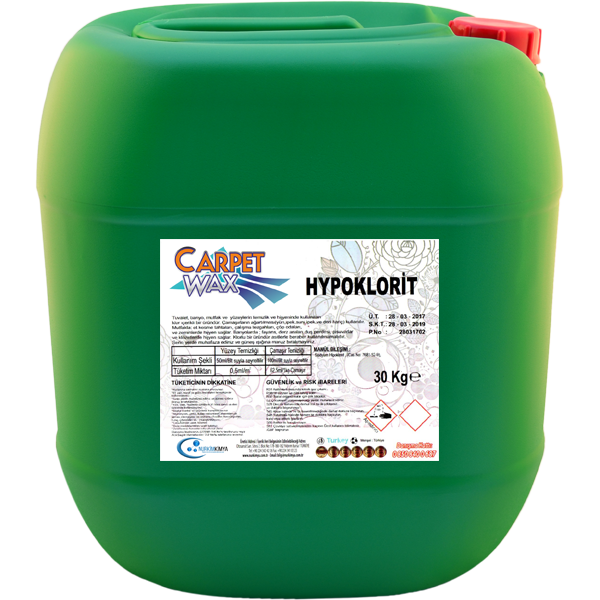 Carpet Wax Hypoklorit 30 KG